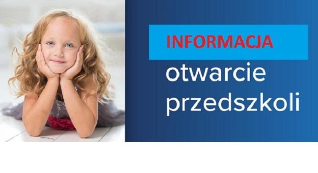 Informacja odnośnie otwarcia miejskich żłobków, przedszkoli i oddziałów  przedszkolnych | Oficjalny portal miasta Siedlce