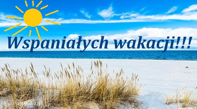 Wspaniałych wakacji! Bezpiecznego odpoczynku! | Oficjalny portal miasta  Siedlce